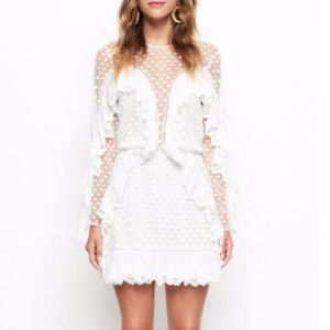 Alice McCall Forever Young Dress Porcelain